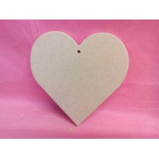 12mm  MDF hanging heart